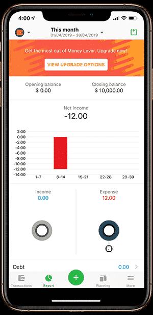 1.18 DzTechs - 9 من أفضل تطبيقات تعقب وتتبع النفقات لنظامي Android و iOS