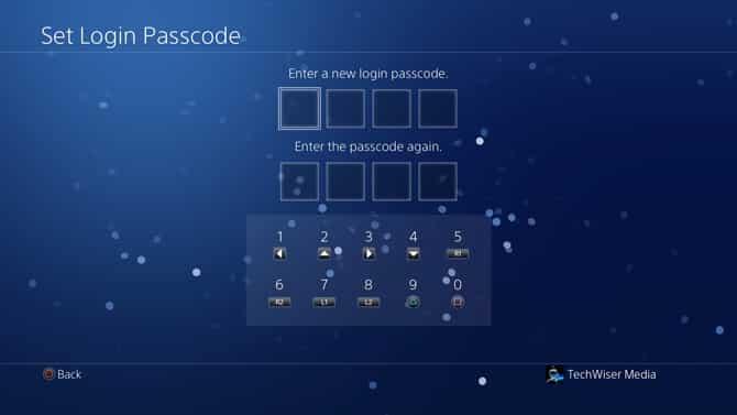 كيفية إضافة كلمة مرور إلى حساب PS4 الخاص بك