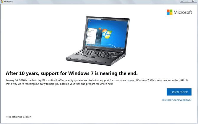 أفضل الطرق للترقية من Windows 7 إلى Windows 10 قبل عام 2020