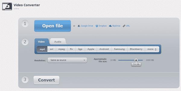 4 مواقع أون لاين لـ تغيير صيغ الفيديو بدون برامج - المجانيات مواقع