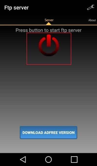 مشاركه الملفات من الهاتف مع أي جهاز آخر عبر الواي فاي