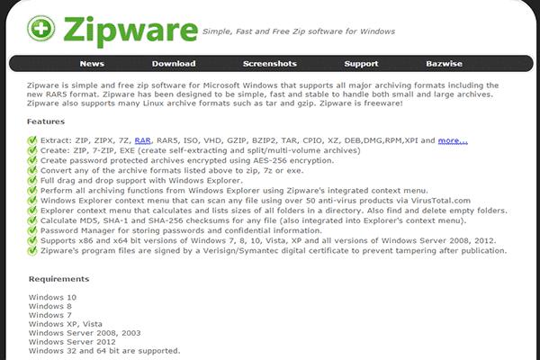 تعرف على أفضل برنامج مجاني و البديل الذي سيجعلك تحذف Winrar من الأن ! - البرامج المجانيات جديد