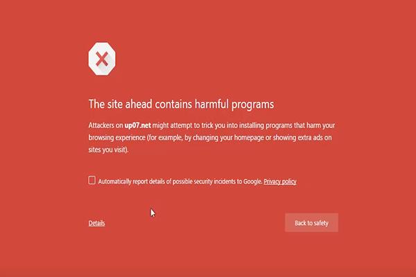 طريقة التخلص من الرسالة الحمراء المزعجة على جوجل كروم ! - جديد شروحات