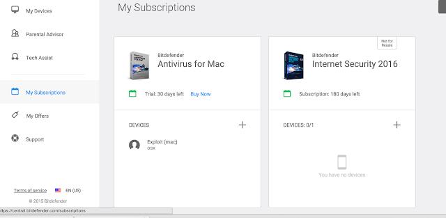 أحصل على Bitdefender Internet Security 2016 بالمجان - البرامج المجانيات جديد