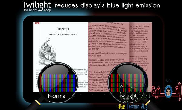 اليكم أفضل تطبيقات الأندرويد التى تساعدك على تقليل اجهاد عينيك ليلا