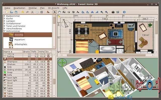 Concevez la maison que vous désirez en technologie 3D en ligne avec les meilleurs sites - sites