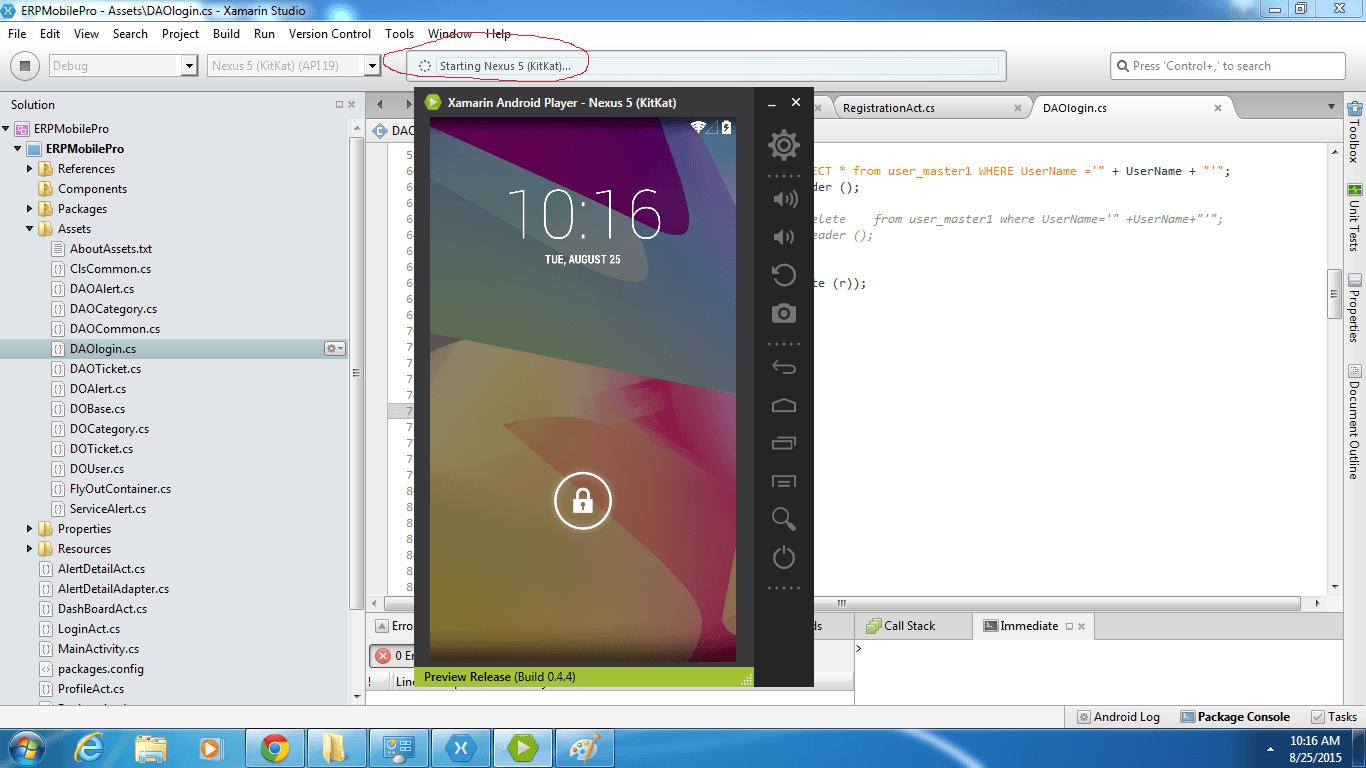 برنامج محاكاة رائع و خفيف لتشغيل تطبيقات الأندرويد على الكمبيوتر Xamarin  - البرامج