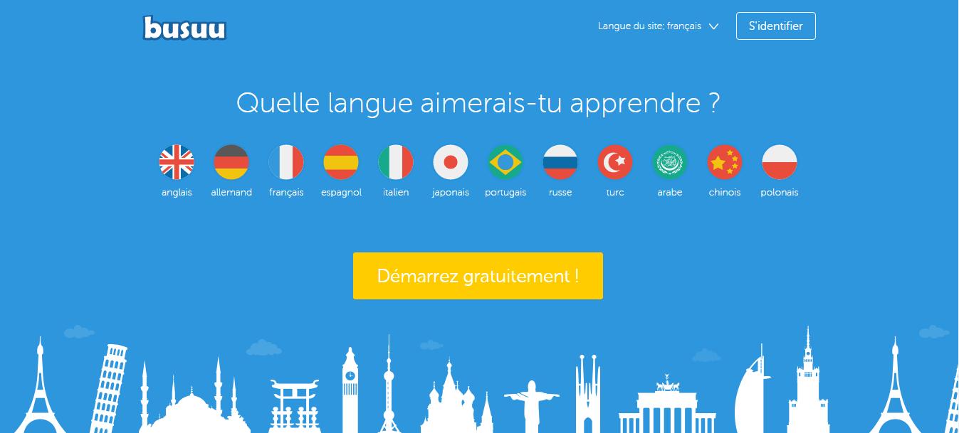 Busuu أكبر شبكة تواصل إجتماعية تعليمة للغات في العالم تعلم اللغة الإنكليزية ولغات أخرى مجانا - مواقع
