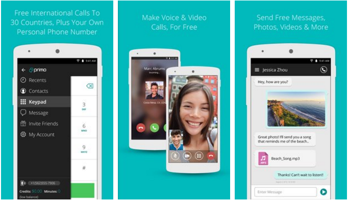 primo+apk+android DzTechs - مع تطبيق Primo 2020 احصل على رقم أمريكي حقيقي صالح لتفعيل المواقع مع 100 دقيقة مجانا