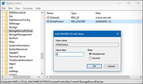 حل مشكلة القرص محمي ضد الكتابة للفلاش ديسك و SD Card