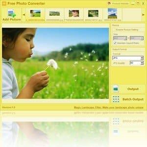 Programme gratuit de conversion de photos pour modifier les formats et les tailles des images tout en conservant leur qualité - programmes gratuits
