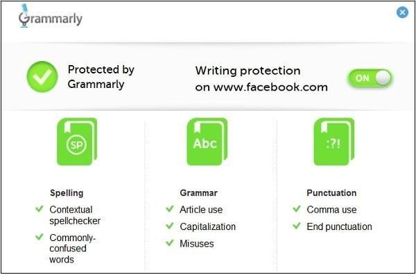 إضافة للمتصفح من أجل تصحيح أخطائك أثناء الكتابة باللغة الانجلزية - اضافات