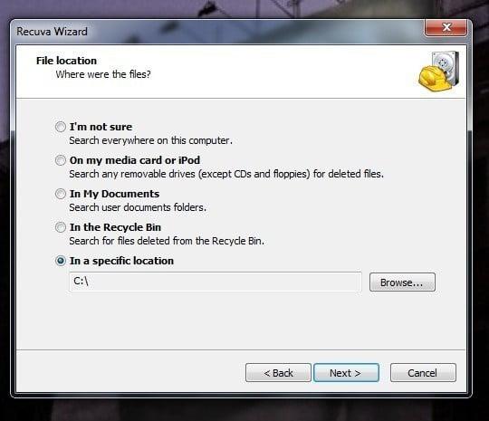 Expliquez comment récupérer des fichiers supprimés définitivement de l'ordinateur à l'aide de Recuva - programmes gratuits