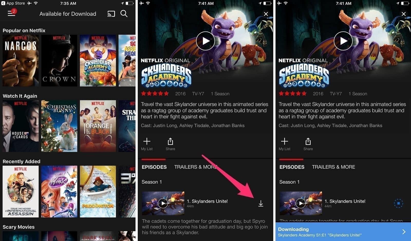كيفية تحميل وإدارة عروض وأفلام Netflix على هاتفك أو التابلات - شروحات