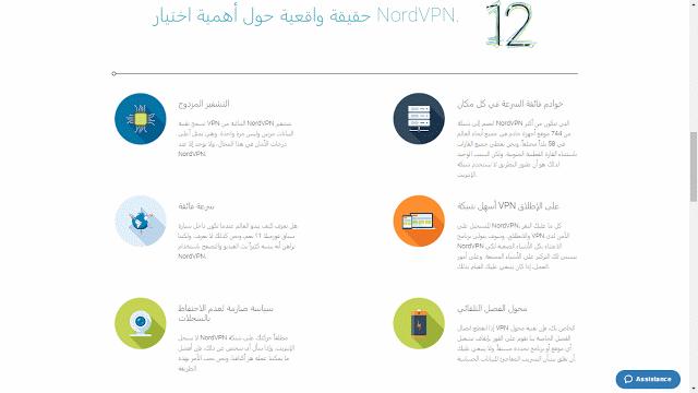 NordVPN أفضل خدمة VPN لحماية بياناتك الشخصة على الانترنت ولزيادة السرعة والعديد من المميزات