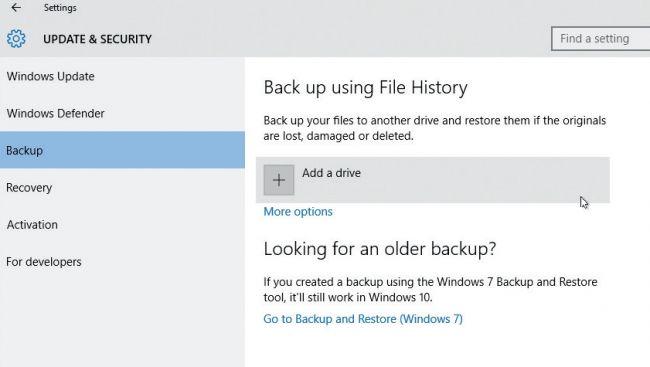 Comment restaurer des fichiers dans Windows 10 avec la fonction Historique des fichiers