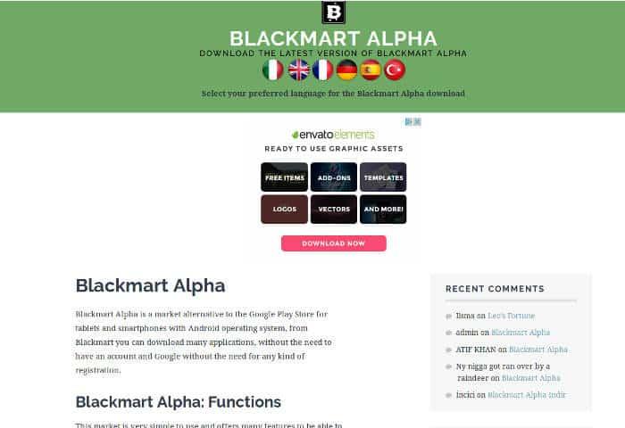 Play Store Alternatives 05 Blackmart DzTechs - 7 من أفضل بدائل متجر غوغل بلاي للأندرويد لأفضل التطبيقات
