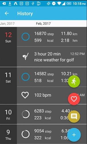 best pedometer apps step counters accupedo DzTechs - عد خطواتك؟ 8 من أفضل تطبيقات عداد الخطى للأندرويد يجب عليك تجربتها