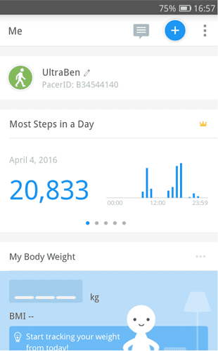 best pedometer apps step counters pedometer weight loss coach DzTechs - عد خطواتك؟ 8 من أفضل تطبيقات عداد الخطى للأندرويد يجب عليك تجربتها