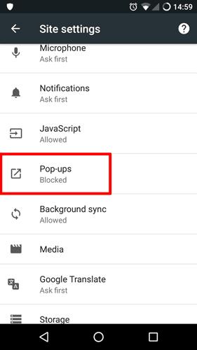 stop pop ups android 2 DzTechs - كيفية إيقاف ومنع النوافذ المنبثقة على أجهزة Android بسهولة