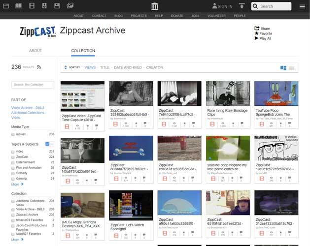 youtube alternatives zippcast DzTechs - هل تقوم باستخدام YouTube وأتعبك كثرة الفيديوهات؟ إليك أفضل البدائل لـ YouTube