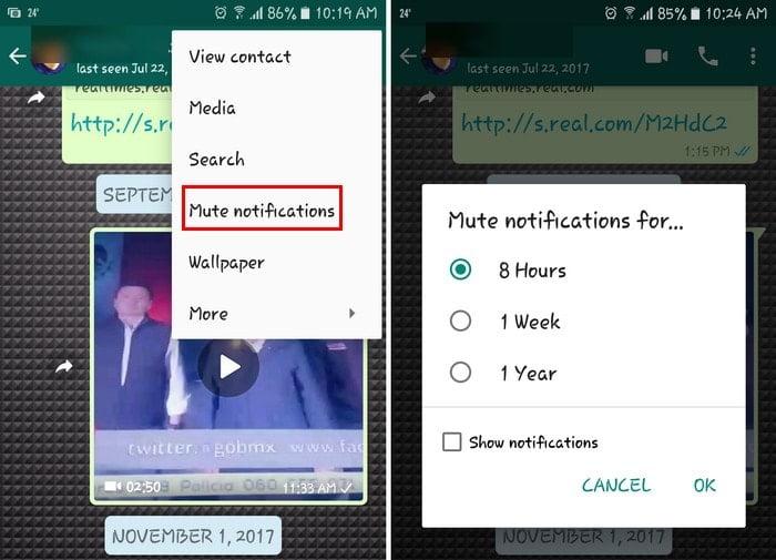 Comment désactiver les notifications Android pour divers réseaux sociaux - Android