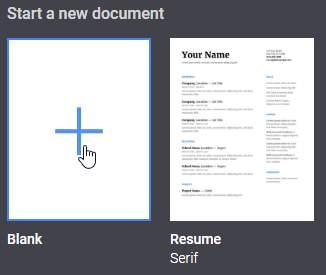 Comment créer un modèle Google Docs personnalisé sans GSuite - Tutoriels Google