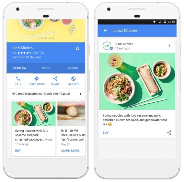 المشاركة مباشرة في غوغل باستخدام مشاركات غوغل لمستخدمي النشاط التجاري - Google SEO