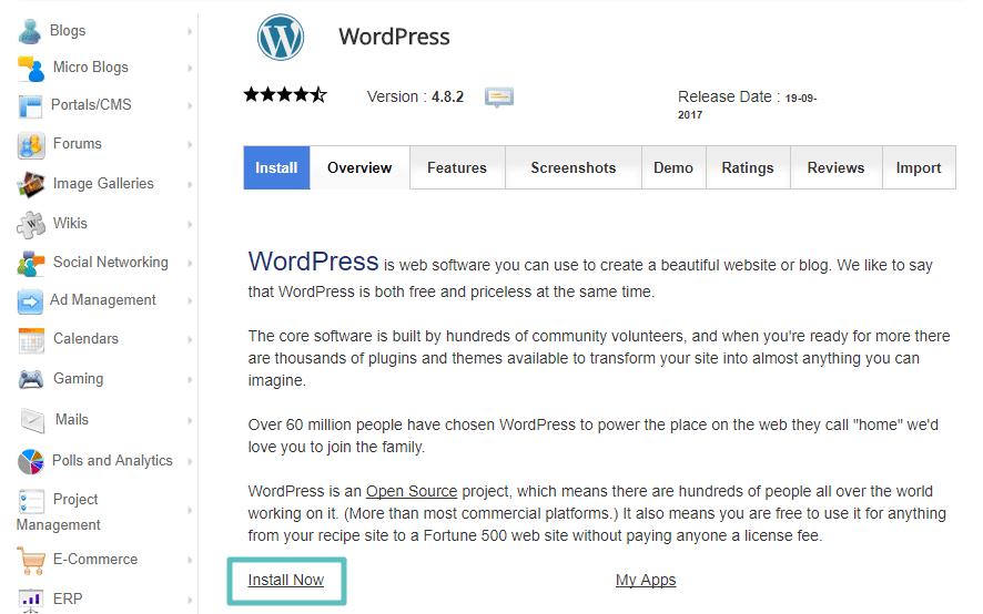 كيفية إعادة تثبيت الوردبريس : 5 طرق مختلفة اعتمادا على احتياجاتك - WordPress احتراف الووردبريس