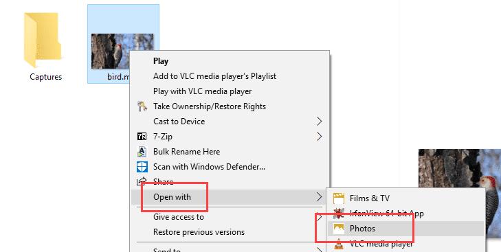 Comment découper une vidéo dans Windows 10 sans utiliser d'applications tierces - Instructions Windowsويندوز