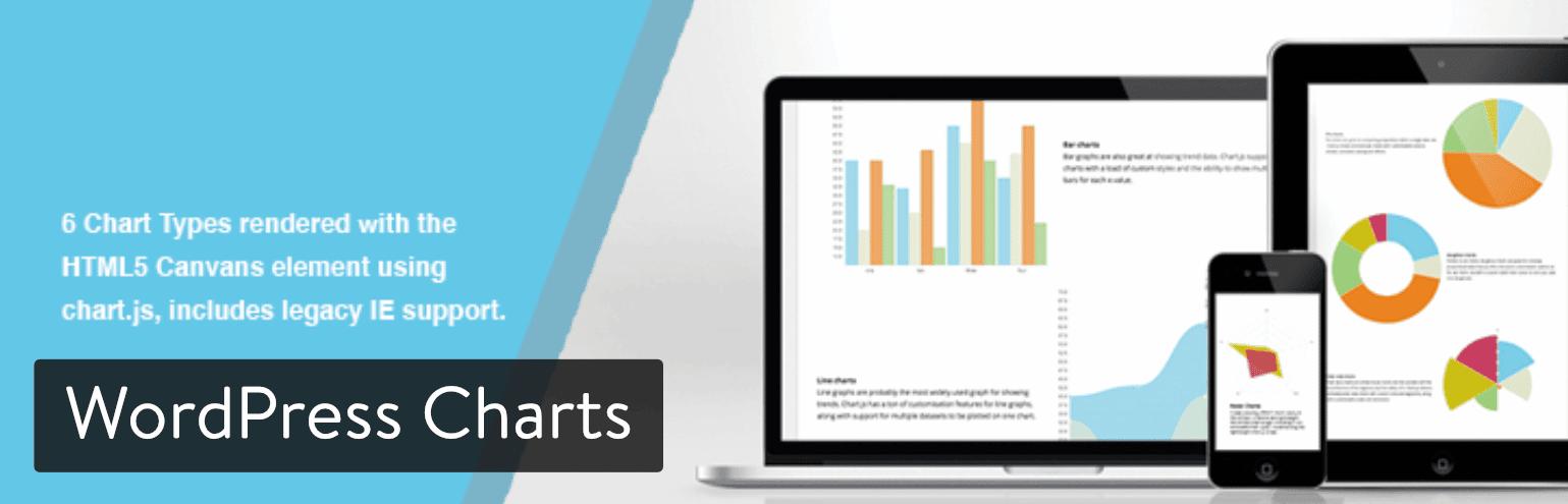 كيفية إنشاء الرسوم البيانية الجميلة والمخططات المفيدة على الووردبريس