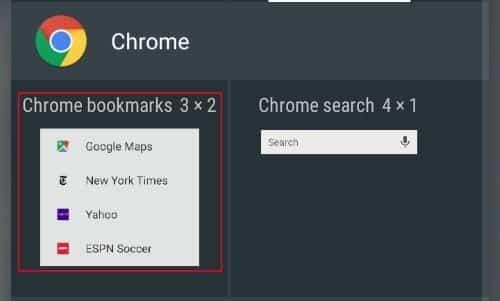 Comment ajouter des pages Web et des signets de Chrome à l'écran d'accueil sur Android