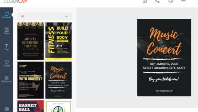 DesignCAP feature  390x220 - إنشاء ملصقات مخصصة مجانا في دقائق من خلال موقع DesignCap