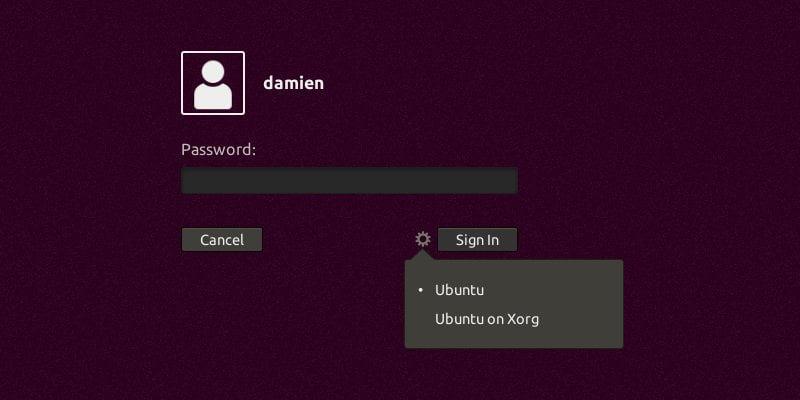 كيفية التحويل إلى Xorg من Wayland في Ubuntu 17.10 [نصيحة سريعة] - لينكس