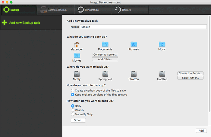 خمس تطبيقات مجانية لعمل نسخ إحتياطي لنظام التشغيل Mac - Mac