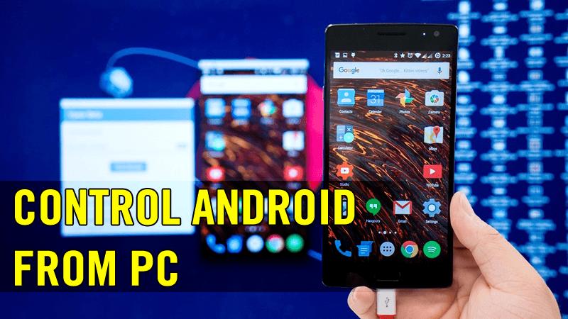 Comment contrôler votre appareil Android depuis votre ordinateur