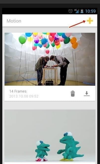 كيفية إنشاء مقاطع فيديو مع وقف الحركة على جهاز Android - Android