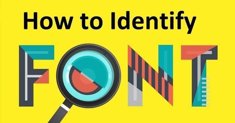 كيفية التعرف على الخطوط المستخدمة لكتابة النص في أي صورة
