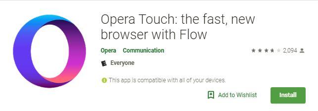 كيفية الحصول على أفضل المزايا الجديدة على متصفح Opera Touch - Android Browsers
