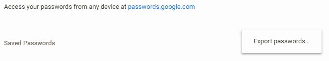 كيفية تنزيل كلمات المرور الخاصة بك المحفوظة في متصفح Google Chrome - شروحات