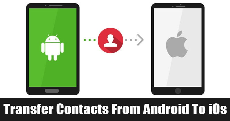 Comment transférer facilement des contacts Android vers iPhone - Tutoriels Android iOS
