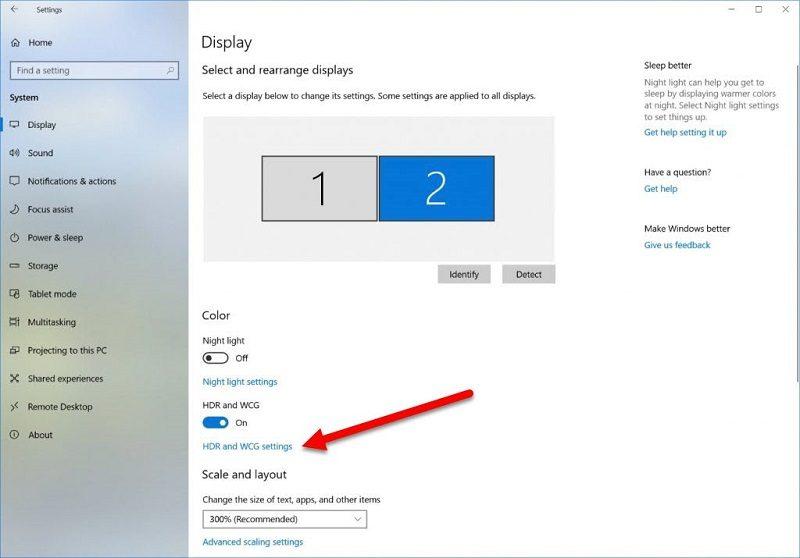 كيفية تمكين تقنية التصوير بالمدى الديناميكي العالي HDR في نظام التشغيل Windows 10