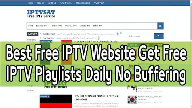 Meilleurs sites Web pour IPTV gratuit et à vie avec mise à