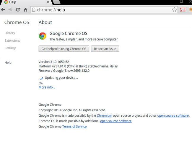 كيفية زيادة تأمين وحماية جهاز Chromebook - Chromebook