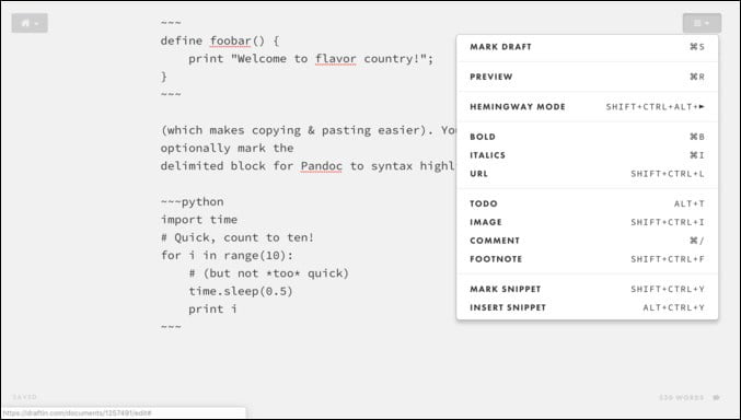 أفضل برامج تحرير Markdown التعاوني على الإنترنت