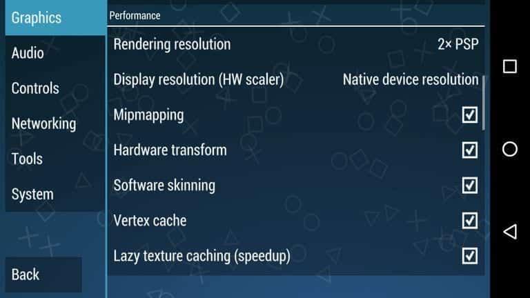 أفضل إعدادات لـ PPSSPP على Android 2020 (تعمل بنسبة 100٪)