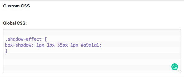 كيف تضيف تأثير Box Shadow عبر CSS في WordPress