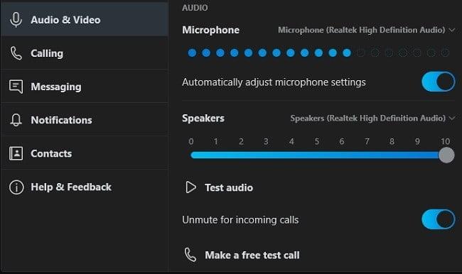 دليل استكشاف الأخطاء وإصلاحها لمحادثات Skype