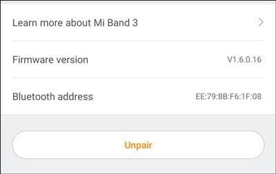 استخدام Mi Band 3/2 الخاص بك للتحكم بالموسيقى على جهاز Android - Android Mi Band