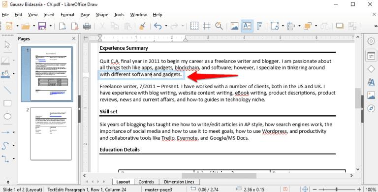 Modifier Texte Pdf Mac Gratuit